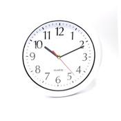 """12"""" Clock, White"""