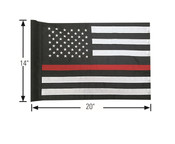 American Flag Redline