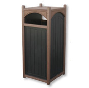 22 Gallon Flat Top Arched Trash Can