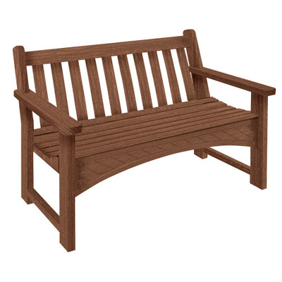 4' Heritage Bench Walnut