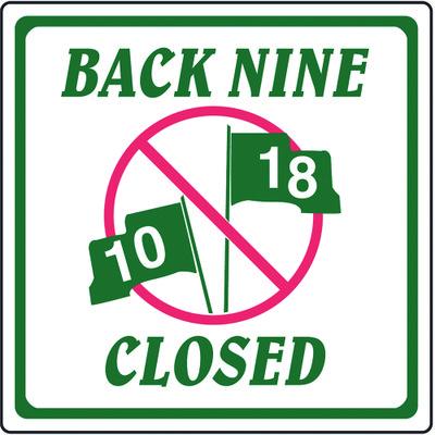Back Nine Closed