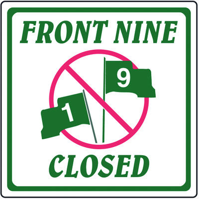 Front Nine Closed