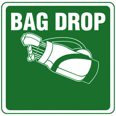 """12""""X12""""Aluminum Sign Bag Drop"""