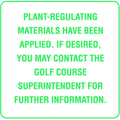 Plant-Regulating Material Applied