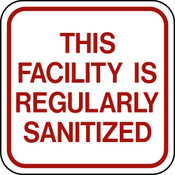This facility is regularly sanitize