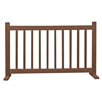 6' Barrier W/T Feet Brown