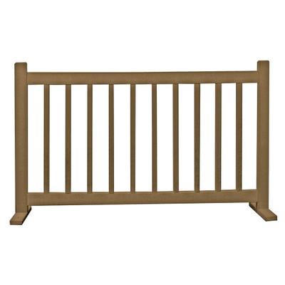 6' Barrier W/T Feet Driftwood