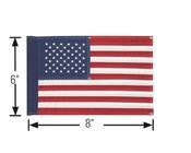 "6""x8"" EMB American Flag"