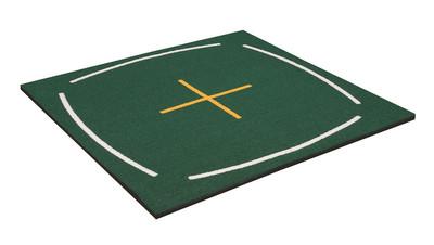 teaching golf mat