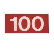 RANGE TARGET NET YARDAGE PLATE- 100