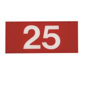 RANGE TARGET NET YARDAGE PLATE - 25