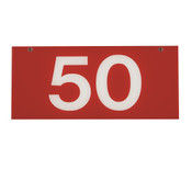 RANGE TARGET NET YARDAGE PLATE - 50