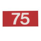 RANGE TARGET NET YARDAGE PLATE - 75