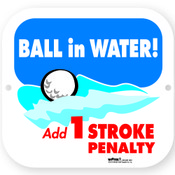 BALL IN WATER SIGN