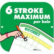 6 STROKE MAXIMUM SIGN
