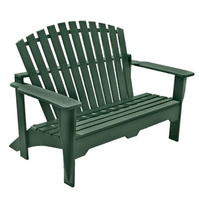 Adirondack Bench Green