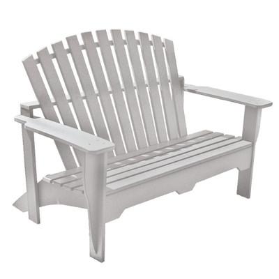 Adirondack Bench White