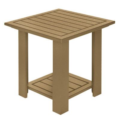 Adirondack End Table Driftwood