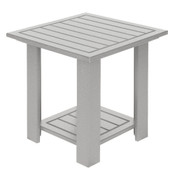 Adirondack End Table White