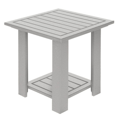 Adirondack End Table White