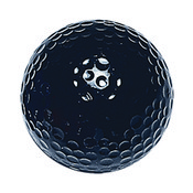 Black Mini Golf Balls