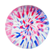 BLUE/RED TIE DYE Novelty Ball