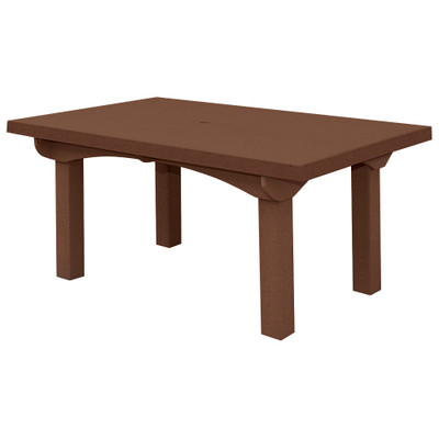 """Cape Cod Dining Table 60"""" Brown"""