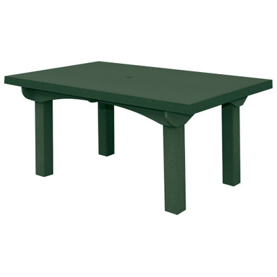 """Cape Cod Dining Table 60"""" Green"""