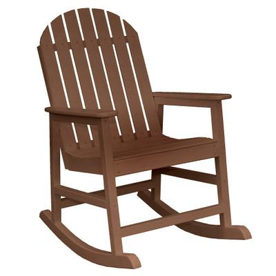 Cape Cod Rocker Chair Brown