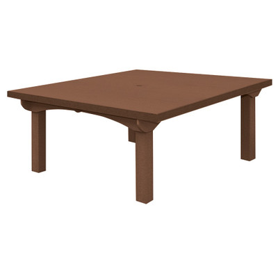 """Cape Cod Square Dining Table 60""""BRN"""