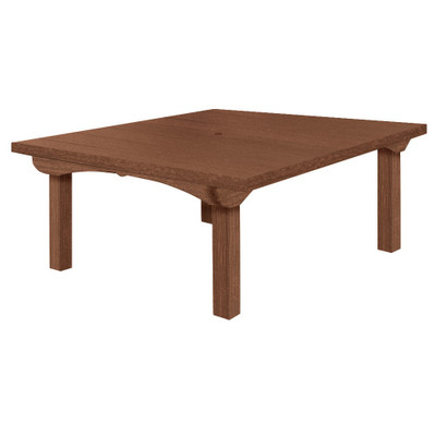 """Cape Cod Square Dining Table 60""""WN"""