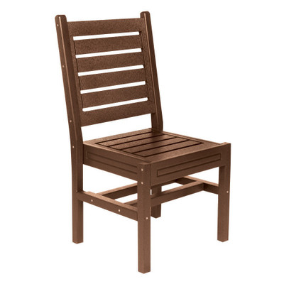 Cape Code Stackable Chair Brown