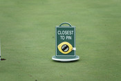 Closest To The Pin Sign w/ 50ft Mea