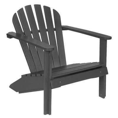Cozy Adirondack Chair Black