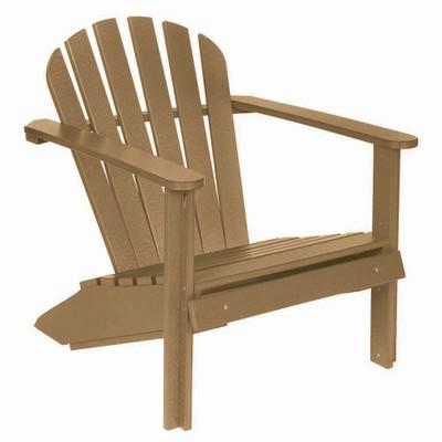 Cozy Adirondack Chair Driftwood