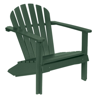 Cozy Adirondack Chair Green