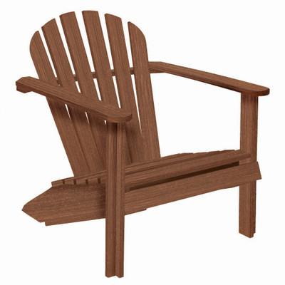 Cozy Adirondack Chair Walnut
