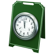 Easel Clocks (Single-Sided)