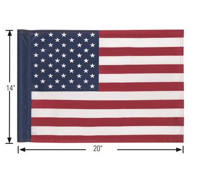 14x20 Screen Printed American Flag