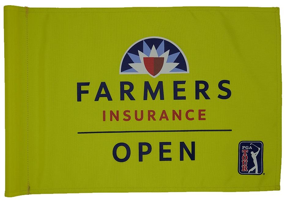 Farmers Insurance Open Flag