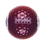 FOOTBALL NOVELTY GOLFBALL