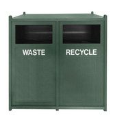 Front Load Recycling Center Green