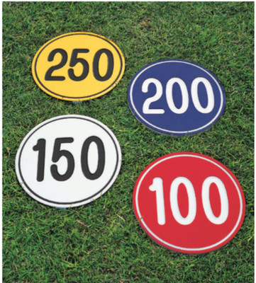 Green Line Yardage Markers Numbers