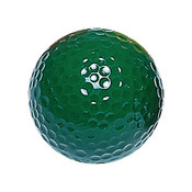 "Green ""Floater"" Mini Golf Balls"