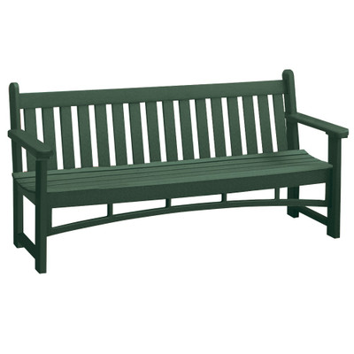 6' Heritage Bench Green
