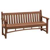 6' Heritage Bench Walnut