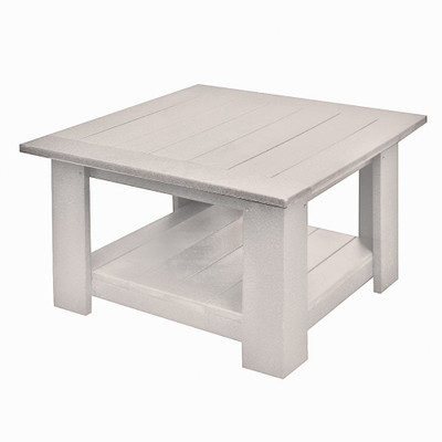 Heritage End Table White