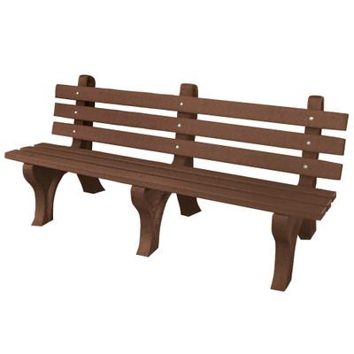 High Back Bench 6' Brown