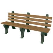 High Back Bench 6' Driftwood