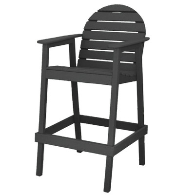 Huntington High Top Chair Black